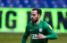 Irish international marks full debut with superb goal in Preston victory