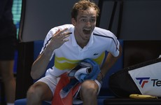 Daniil Medvedev claims first five-set win of his career despite coach walk out