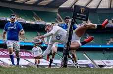 England kick-start Six Nations defence with bonus-point win against Italy