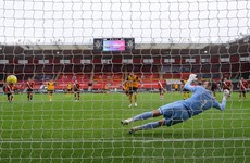 Wolves capitalise on controversial penalty call to leapfrog Southampton