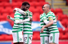 Edouard on the double as Celtic rally to maintain winning form