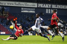 Maguire hits post in injury time as West Brom secure draw to dent Man United's title bid