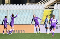 Ireland's Quinn on target but Fiorentina bow out of Coppa Italia