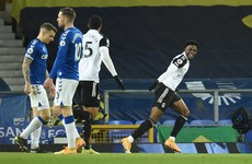 Fulham end 12-match losing run as Maja double downs Everton