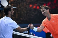 Nadal closes in on Slams record with emphatic win