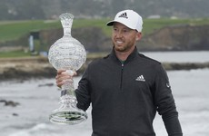 Berger seizes Pebble Beach victory with eagle at the last