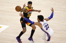 Clarkson on song as Jazz down Sixers in NBA's clash of conference leaders