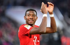 Alaba confirms Bayern exit at end of the season with Europe's top clubs keen to sign him