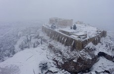 Three people dead after heaviest snow in a decade hits Greece