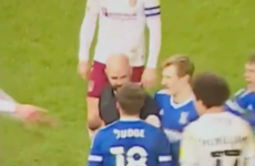 Referee squares up to Alan Judge in Ipswich draw
