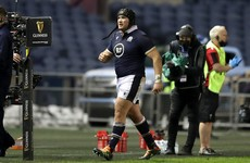 Zander Fagerson banned for rest of Six Nations after red card against Wales