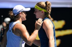 World number one Barty stunned in Australian Open quarter-finals by Muchova