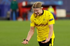 Lethal Haaland puts Dortmund in driving seat against Sevilla
