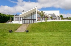 Drinks on the patio? Country views and striking design at this €650k home