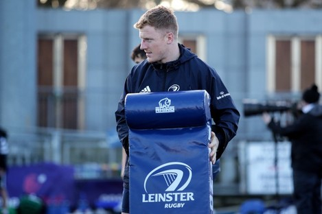 Leinster hooker James Tracy.