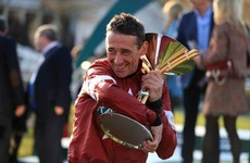 Davy Russell to miss next month's Cheltenham Festival through injury