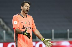 Buffon fined €5,000 for blasphemy in Serie A game