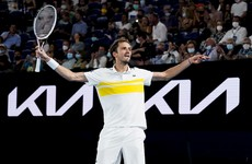 Medvedev reaches first Australian Open final to set up showdown with Djokovic