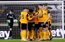Freak own goal sees Wolves jump above Leeds in league table