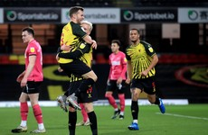 Watford stay on the heels of automatic promotion spots with win over Knight's Derby
