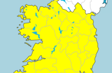 Nationwide Status Yellow wind warning issued with rain expected across the country
