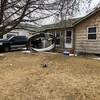 Debris falls from plane during emergency landing near Denver