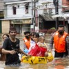 Severe floods kill five in Indonesia's capital