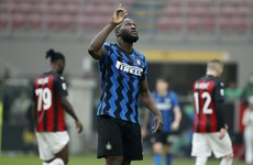Inter down AC Milan to extend Serie A lead