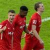Leipzig brush past Hertha Berlin to close in on Bayern