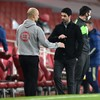Pep Guardiola impressed with Mikel Arteta's Arsenal after Man City win again