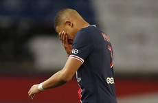 PSG's title hopes dented with shock defeat to Monaco