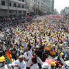 'We will fight against them until we win': Protests swell in Myanmar in defiance of military threats