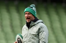 Ireland attack coach Catt believes 'the way we're going is the right way'