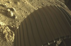 Nasa unveils new video and audio captured by Perseverance as it landed on Mars