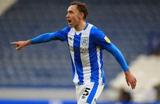 Unhappy Derby County return for Richard Keogh in Huddersfield defeat