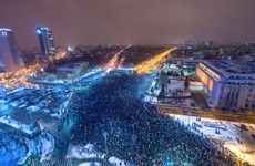 FactCheck: No, this photo of a massive crowd in Bucharest does not show a protest against Covid-19 restrictions