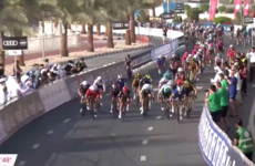 Sam Bennett strikes right on cue to win Stage 4 sprint at UAE Tour