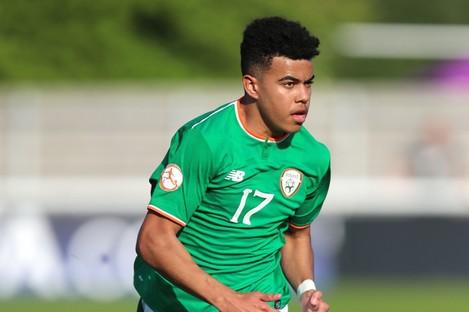 Tyreik Wright: Ireland U19 international was subjected to racist abuse on Instagram.
