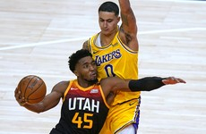 Utah Jazz stake title claims with dominant win over Los Angeles Lakers