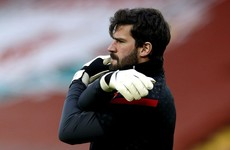 Tributes paid after father of Liverpool goalkeeper Alisson Becker dies in Brazil