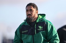 Bundee Aki set to start for Connacht after release from Ireland camp