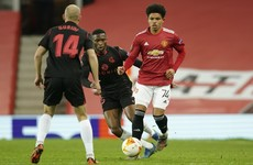 Shoretire becomes youngest Man Utd player in Europe as they safely advance