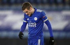 Leicester crash out of Europa League after defeat to Slavia Prague
