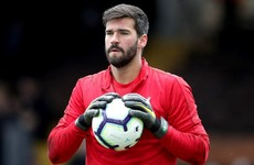 Alisson Becker grateful for support following death of his father in Brazil