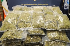 Gardaí seize €720k worth of cannabis after searches in Dublin, Meath and Louth