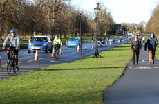 People asked not to drive to Phoenix Park and to leave parking spaces 'for those who need it'