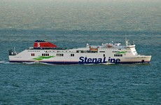 Woman and 11-year-old daughter rescued after going overboard from ferry in Belfast harbour