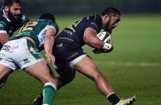 Bundee Aki's last minute try seals victory for Connacht in Treviso