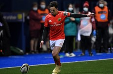 Joey Carbery makes first appearance in over a year as Munster prevail