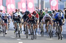 Second place for Sam Bennett in UAE Tour's final stage as Pogacar claims overall victory